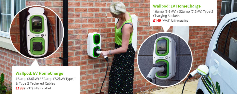 Home Electric Vehicle Charging Point