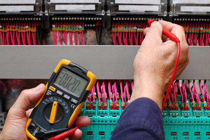 Electrical testing using tester