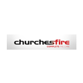 churches fire logo - electrical contractors Bristol